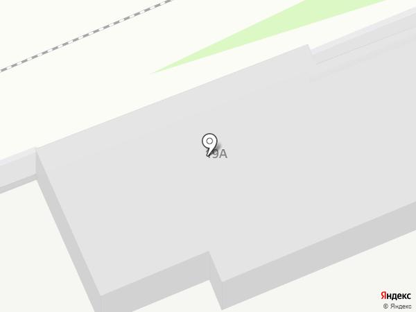 Муниципальное автономное ощеобразовательное учреждение на карте