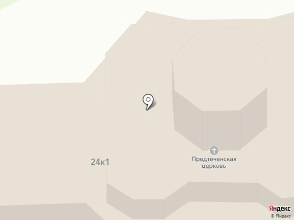 Храм Рождества Иоанна Предтечи в Юкках на карте