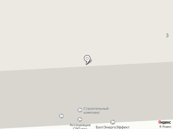 Балтийский строительный комплекс на карте