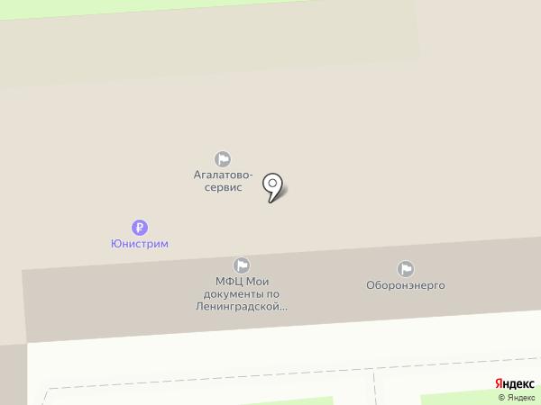 Администрация сельского поселения Агалатово на карте
