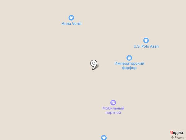 Императорский фарфор на карте