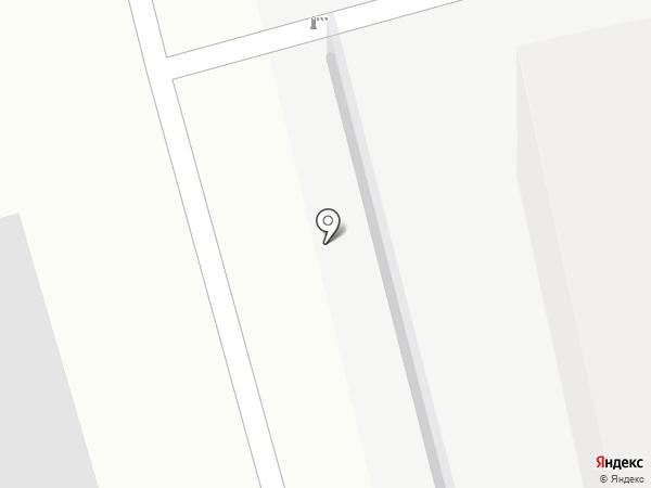 Автостоянка на ул. Строителей (Гатчинский район) на карте