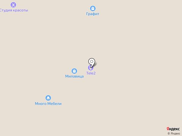 Метр Квадратный на карте