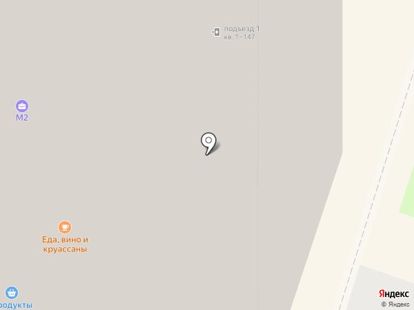 Месье Круассан на карте
