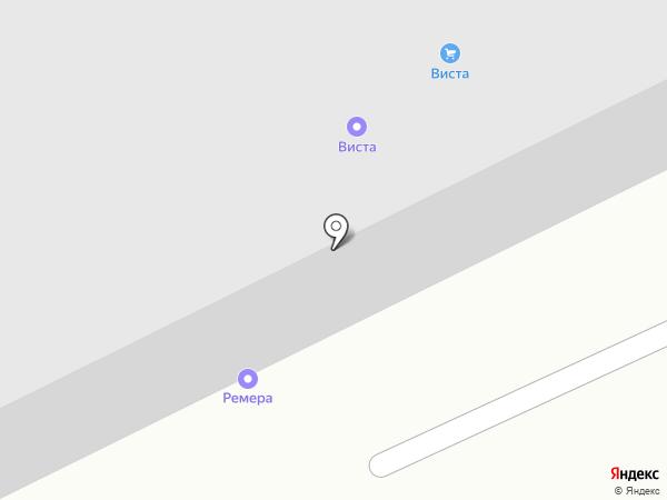 Виста на карте
