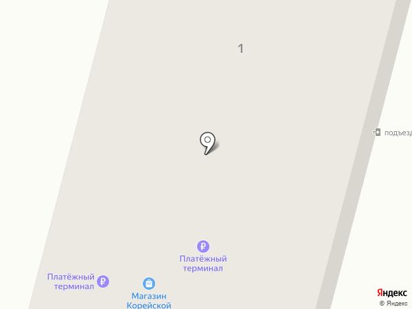 Свет на карте