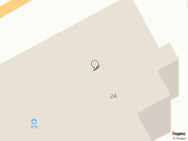 АТБ на карте