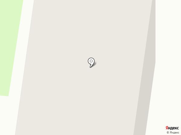 Брусничный на карте