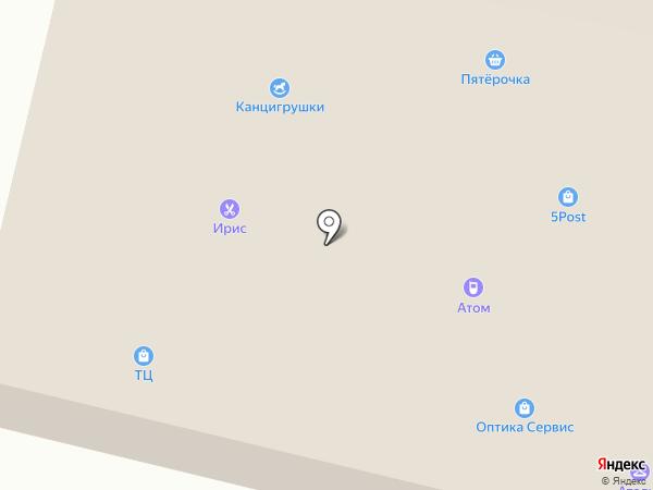 Янино на карте