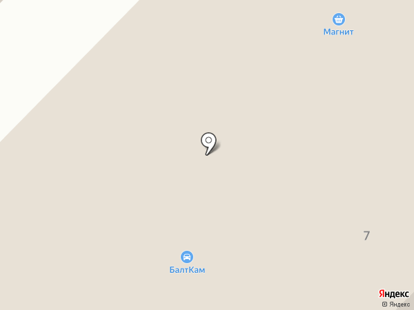 БалтКам на карте