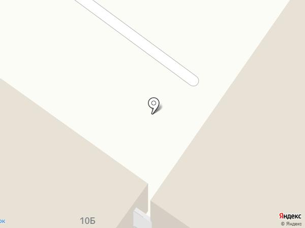Полушка на карте