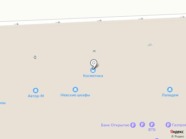 Палисандр на карте