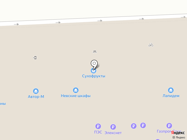 Метизы на карте