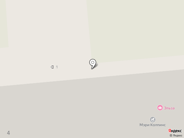 Эльза на карте