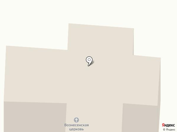 Вознесенская церковь на карте