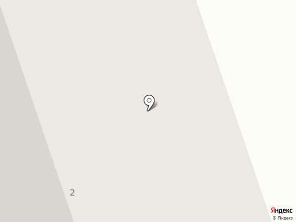 Автостоянка на ул. Генерала Чоглокова на карте