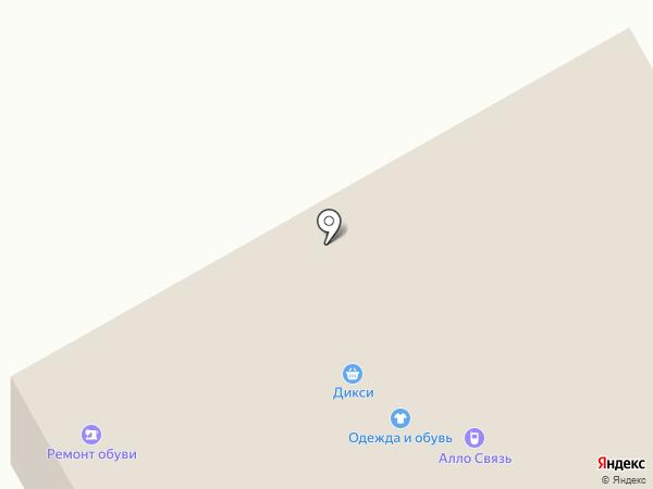 Школьный на карте