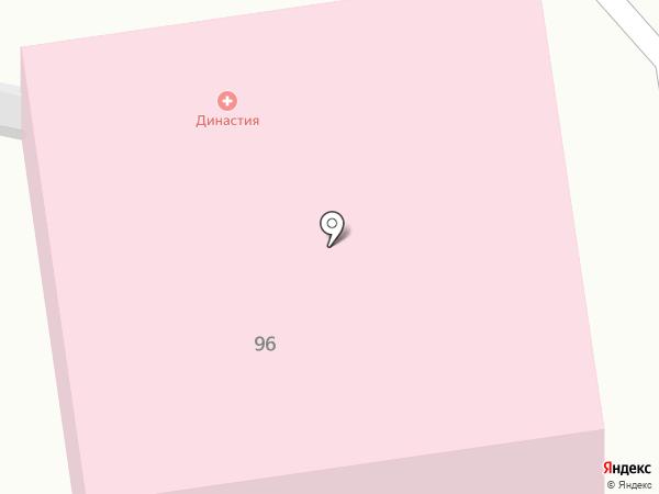 Новотера на карте