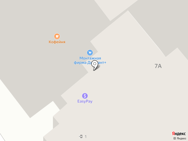 Жилищно-коммунальный сервис на карте