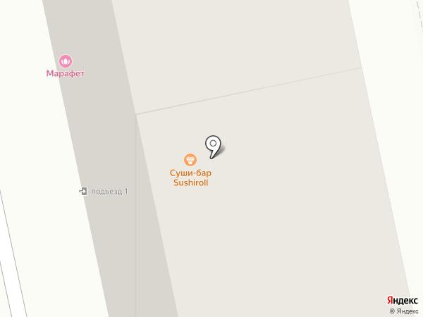 Комод, ПО на карте