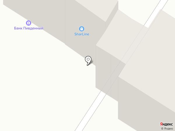 Ломбард Золотий, ПТ на карте