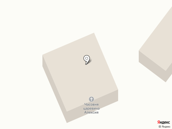 Церковь царевича Алексея на карте