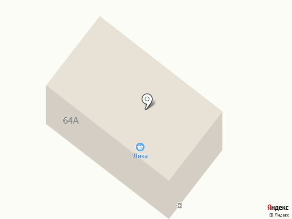 Лика на карте