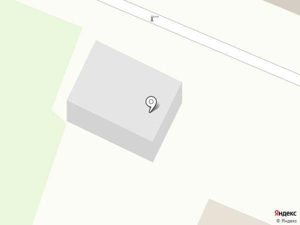 Автостоянка на Ладожской (Кировск) на карте