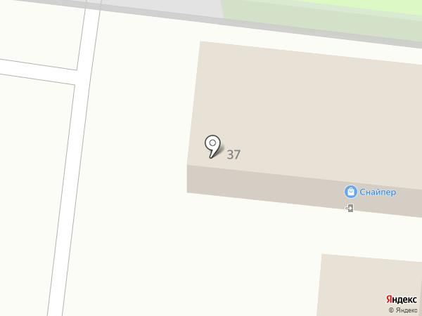 Веряжский на карте