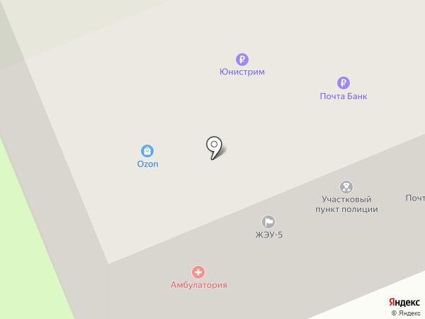 Почтовое отделение №507 на карте