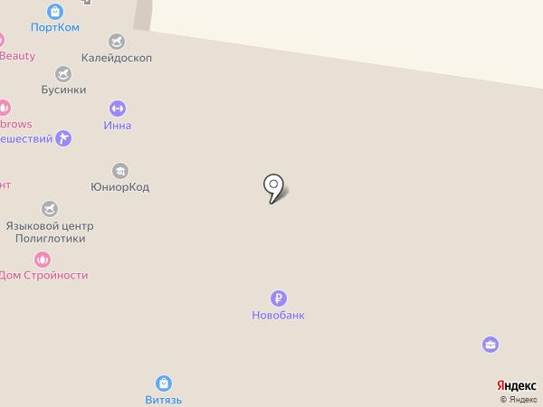 Мегастиль на карте