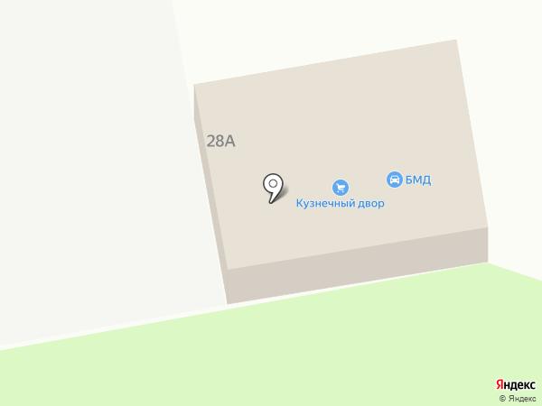 БМД на карте