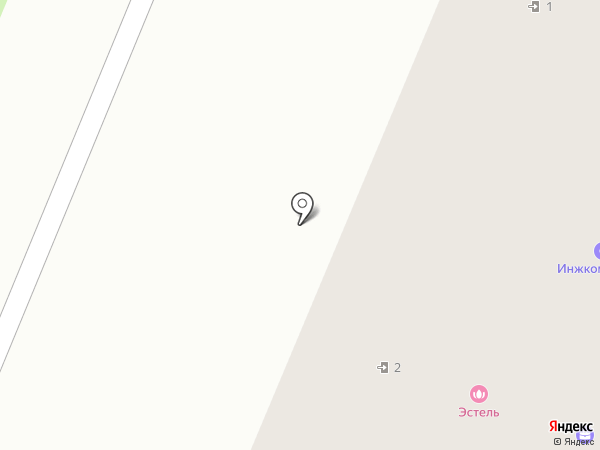 Параклит на карте