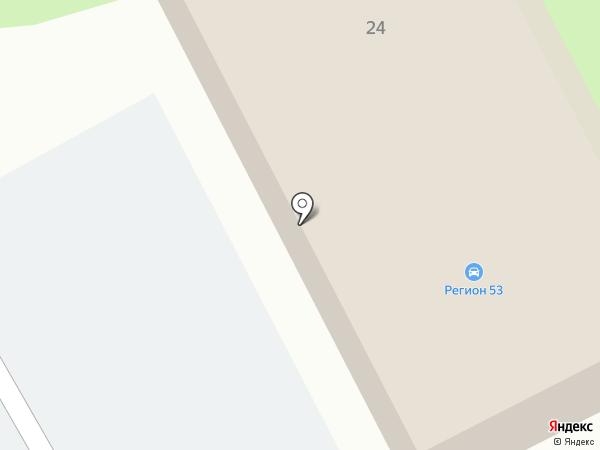 Автоцентр Регион 53 на карте