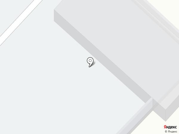 Автостоянка на ул. Щусева на карте