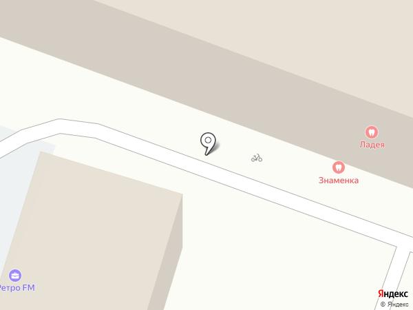 Ладея на карте