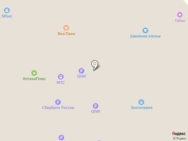 Яки Паки на карте
