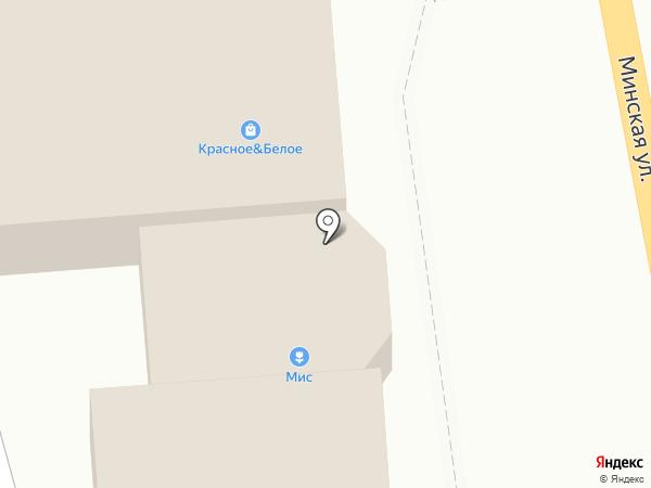 Магазин строительных материалов по ул. Минская (н.п. Печерск) на карте