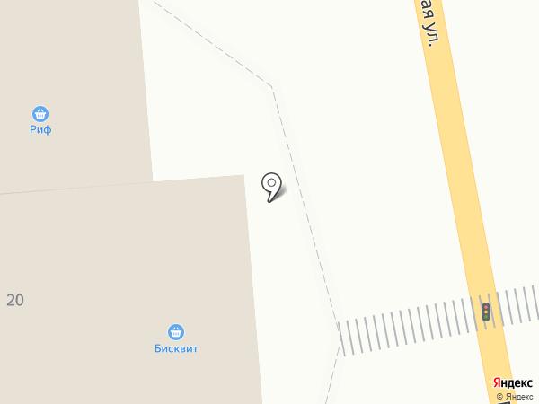 Бисквит на карте