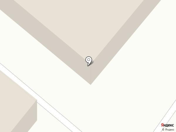 Современный силует на карте