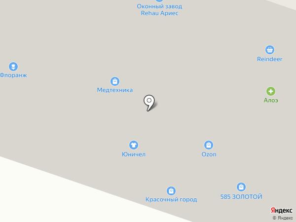 Юнион Финанс, КПК на карте