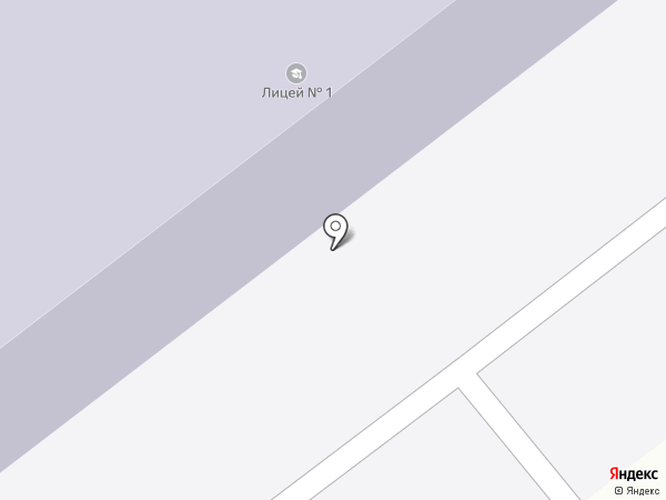 Лицей №1 Брянского района на карте