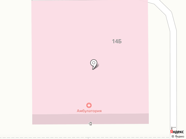Врачебная амбулатория на карте