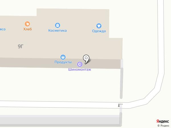 Путёвый шиносервис на карте