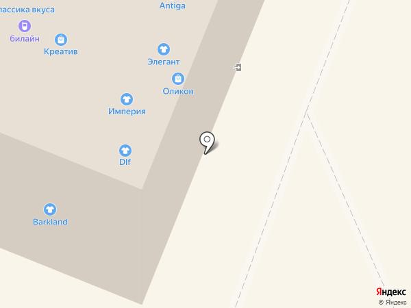 Lee на карте