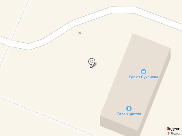 От Суханова на карте