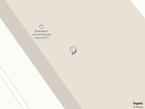 Пожарная часть на карте
