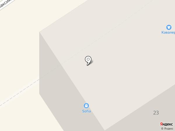 Текстильный каприз на карте