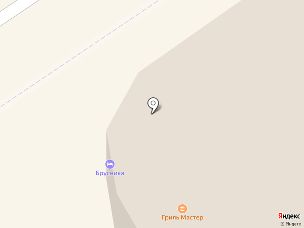 Брусника на карте