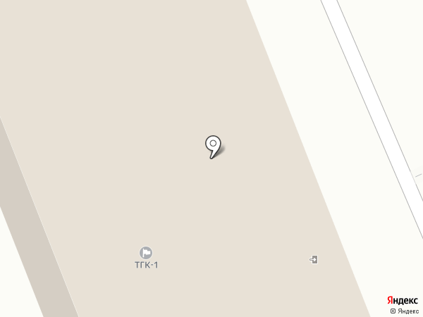Территориальная генерирующая компания №1 на карте